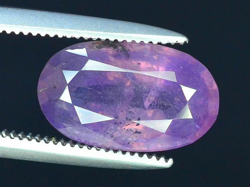 Rarest 2.80 ct Pink Corundum Sapphire~Kashmir M