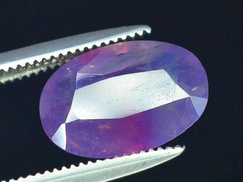 Rarest 2.40 ct Pink Corundum Sapphire~Kashmir