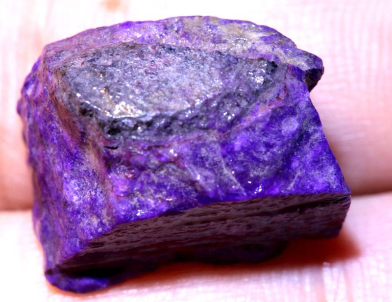 26.30 CTS  SUGILITE ROUGH AFRICA   RG-3407