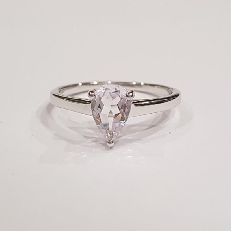 Amethyst 925 Sterling silver ring #36459
