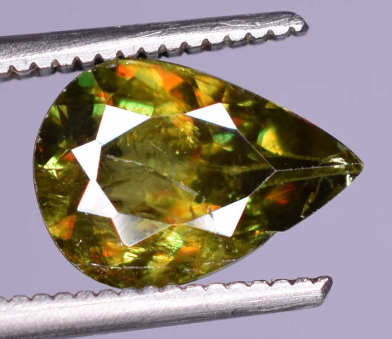 1.55Carats Top Fire  Natural Sphene Gemstones
