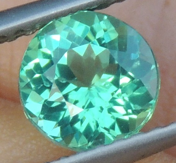 1.23cts Neon Apatite,  Jaw Dropping Luster