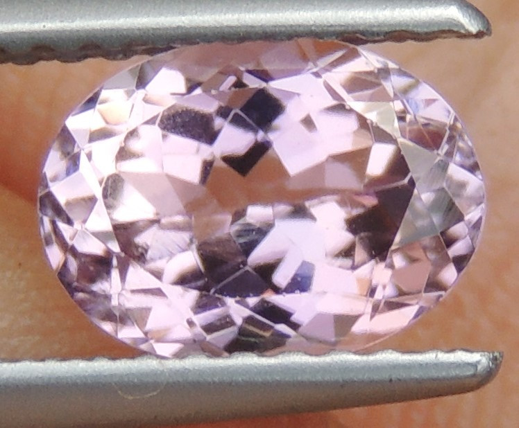 1.45cts, Pink  violet Tourmaline,  Untreated