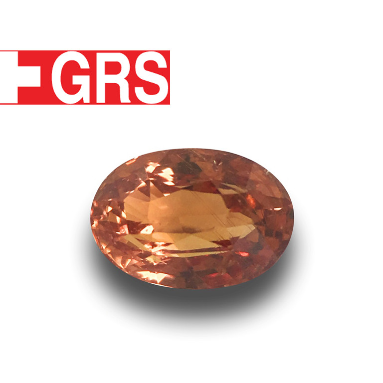 GRS Certified Natural Unheated Padparadscha|Loose Gemstone|New| Sri Lanka