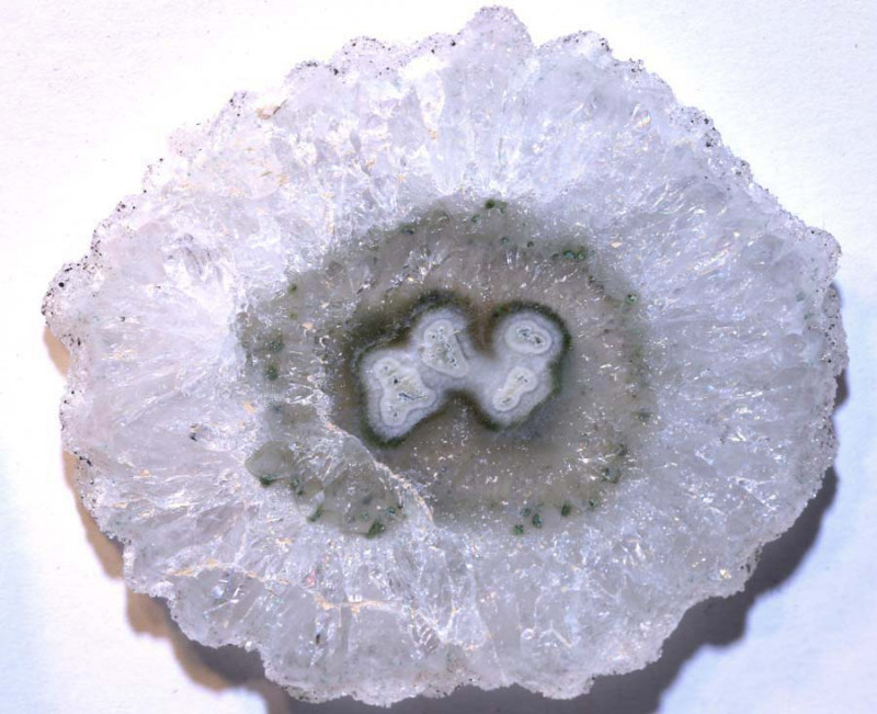 117.15 CTS AMETHYST STALACTITE FLOWERS SG-2835