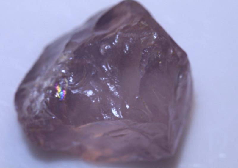 42.15 carats Rose Quartz Rough Piece facet grade ANGC 785