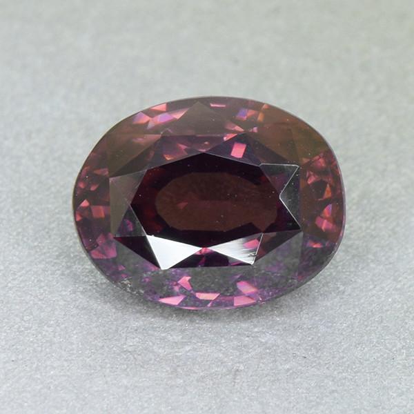 Untreated Reddish Zircon Natural  Attractive 4.85ct (00673)