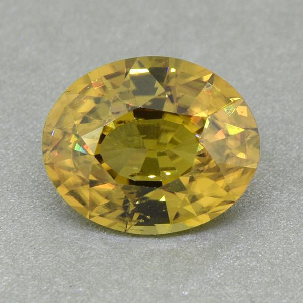 Untreated Zircon Yellow Natural  Attractive 5.30ct (00819)