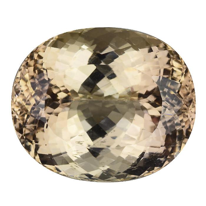 53.80 Ct Golden Topaz Pakistan Top Cutting Top Luster Gemstone. TG 12