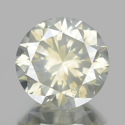 1.02 Cts UNTREATED NATURAL FANCY GRAYISH YELLOW COLOR LOOSE DIAMOND