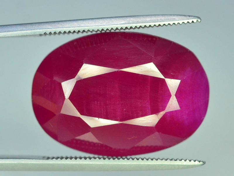 22.00 CT NATURAL AFRICAN RUBY GEMSTONE