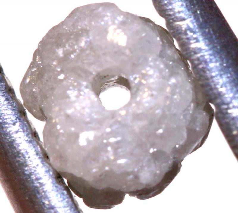 0.60 CTS ROUGH DIAMOND BEAD DRILLED SD-316