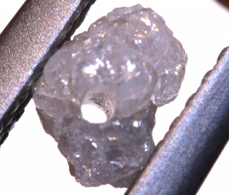 0.55 CTS ROUGH DIAMOND BEAD DRILLED SD-343