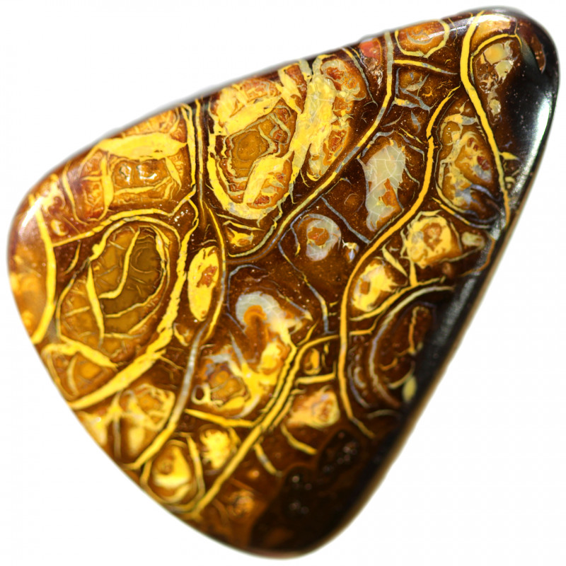 57.15 CTS  CHOCOLATE IRONSTONE WITH WHITE SILICA [STS1563]