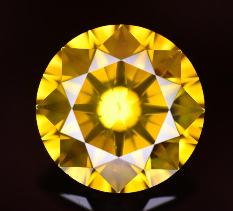 4.06 Ct Natural Greenish Yellow Diamond Gemstone