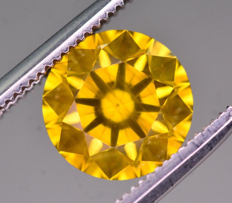 1.80 Ct Natural Greenish Yellow Diamond Gemstone
