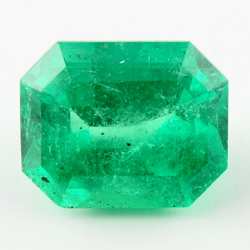 4.36 ct Natural Colombian Emerald Green Gem Loose Gemstone Stone