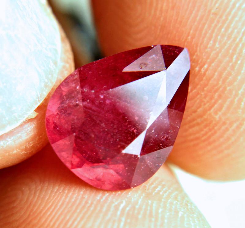 6.99 Carat Fiery, Flashy, Fun African Ruby - Gorgeous