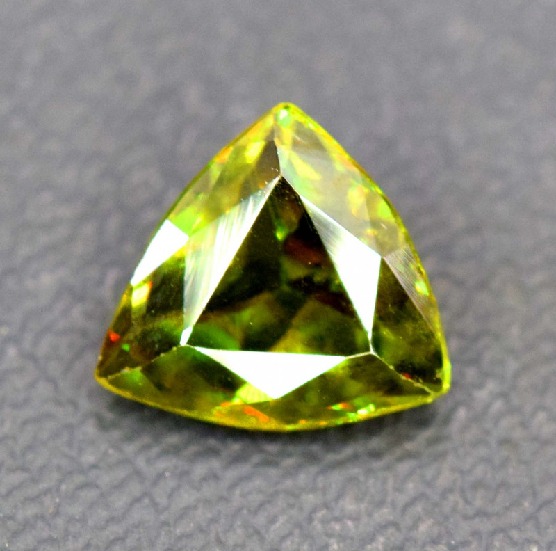 1.20 Carats Full Fire Sphene Titanite Gemstone From Pakistan