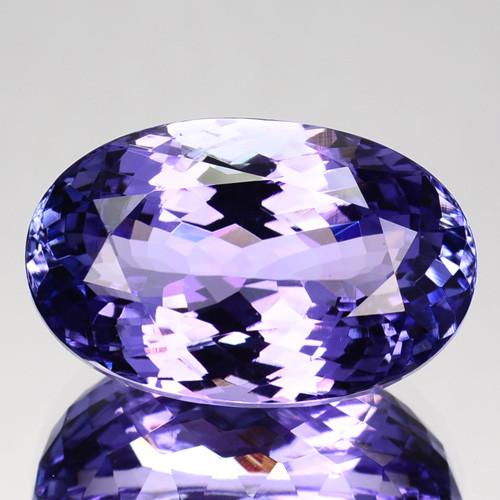 Unique Custom 11.11 Cts Natural Pinkish Purple Tanzanite Tanzania Pear