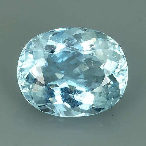 7.15 Cts - Sparkling Luster - Oval Gem - Natural Fine Aquamarine~GEM!