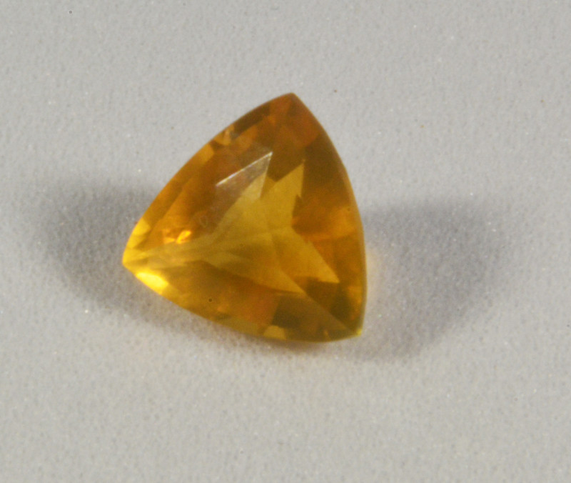 Trilion cut Faceted Fire Opal 1.45 cts. (KG9L2)