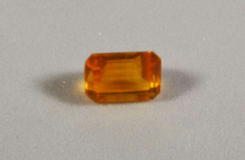Faceted Fire Opal 0.95 cts. (KG16L2)