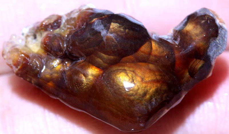 28.88 carats   Fire Agate Rough  ANGC 787