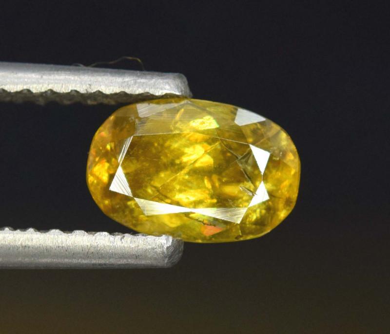 2.05 cts Full Fire Sphene Titanite Gemstone