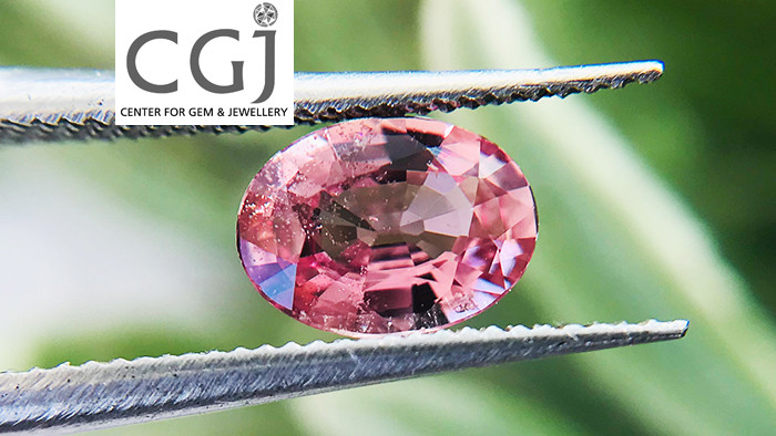 Unheated - 0.79ct - Padparadscha Sapphire Certified