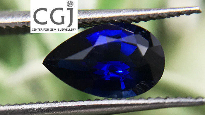 Certified - 0.84ct - Royal Blue Sapphire