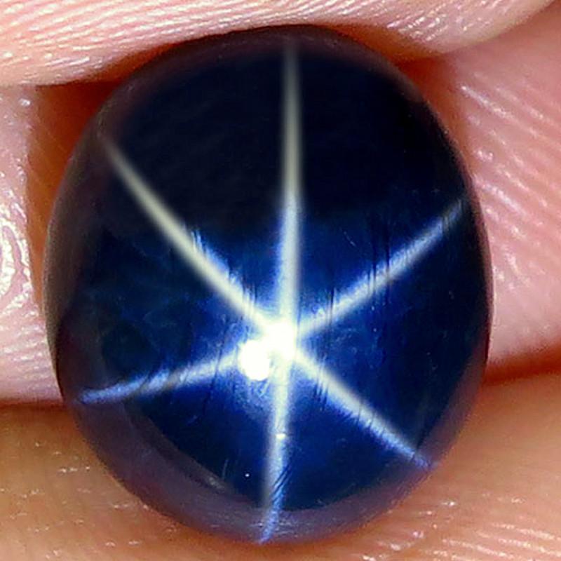 10.31 Carat Thailand Blue Star Sapphire - Gorgeous