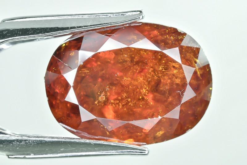 27.14 Crt AIG Certified Sphalerite Faceted Gemstone