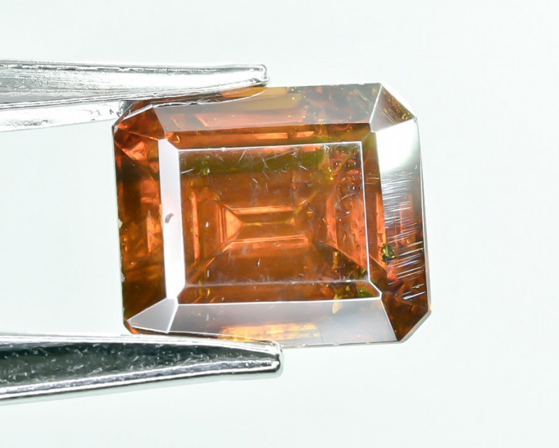 10.95 Crt AIG Certified Sphalerite Faceted Gemstone