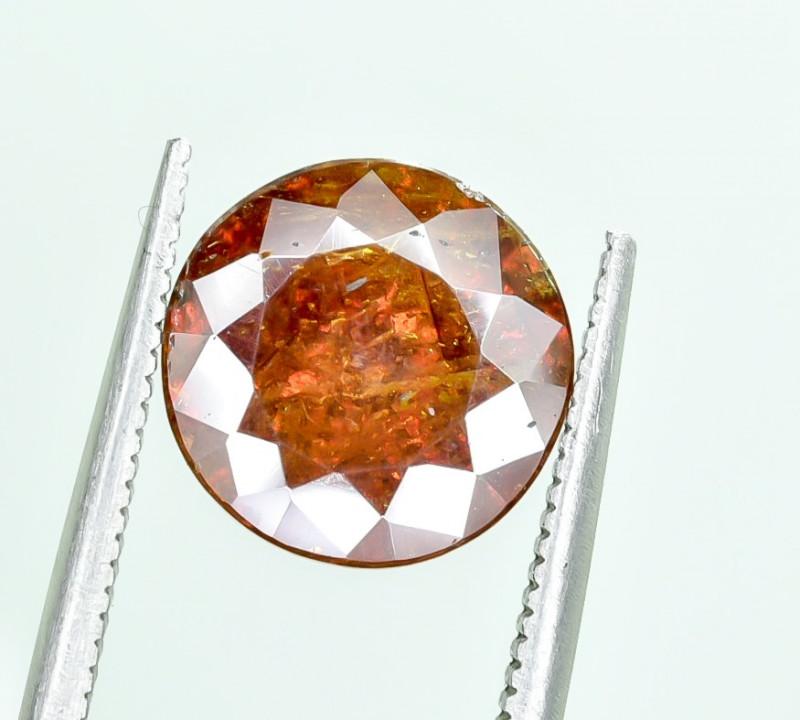 4.39 Crt AIG Certified Sphalerite Faceted Gemstone