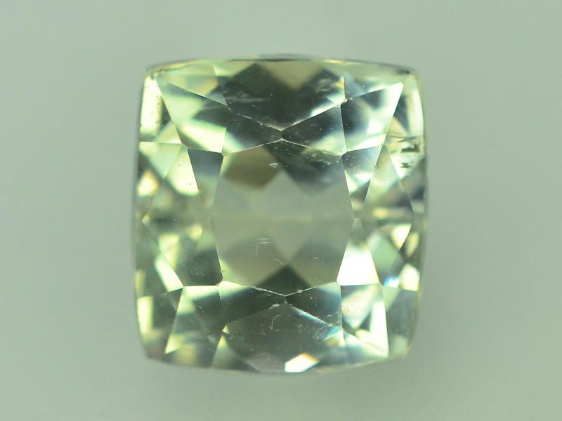 9.55 Ct Green Spodumene Gemstone From Afghanistan