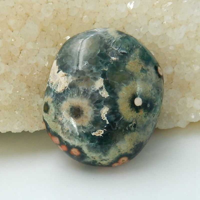 Colorful Beautiful Ocean Jasper Cabochon ,Handmade Gemstone ,Lucky Stone C5