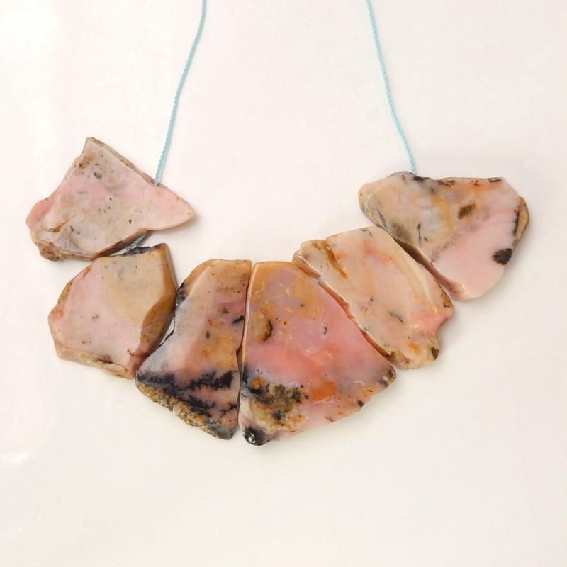 Pink Opal Strand ,Pink Gemstone Necklace ,Healing Stone ,Wholesale C60
