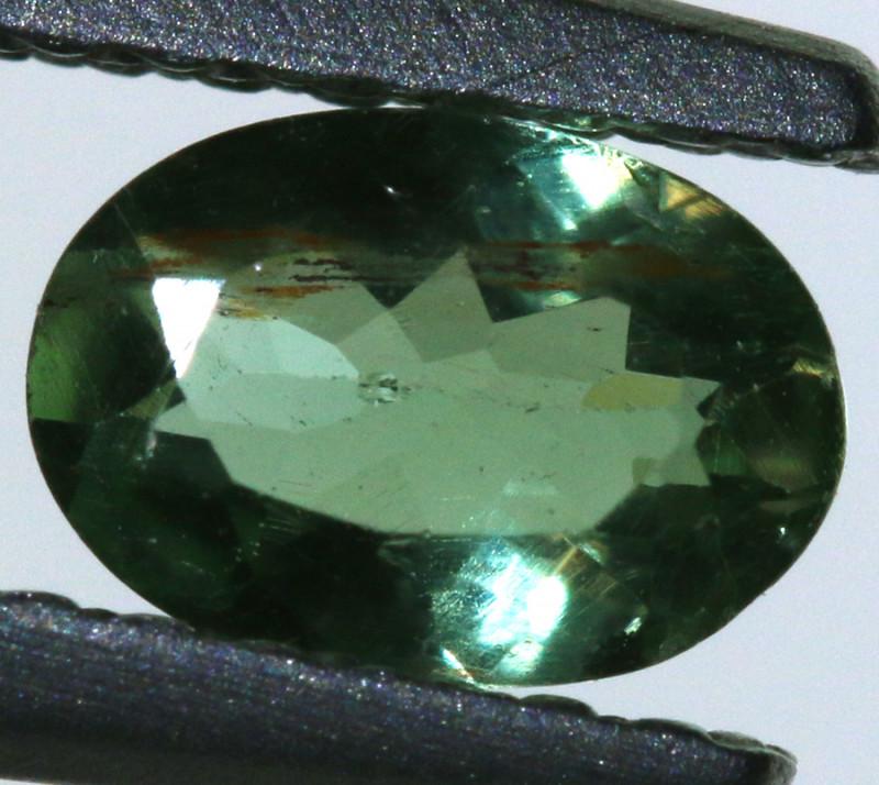 0.50 carats Green Sapphire