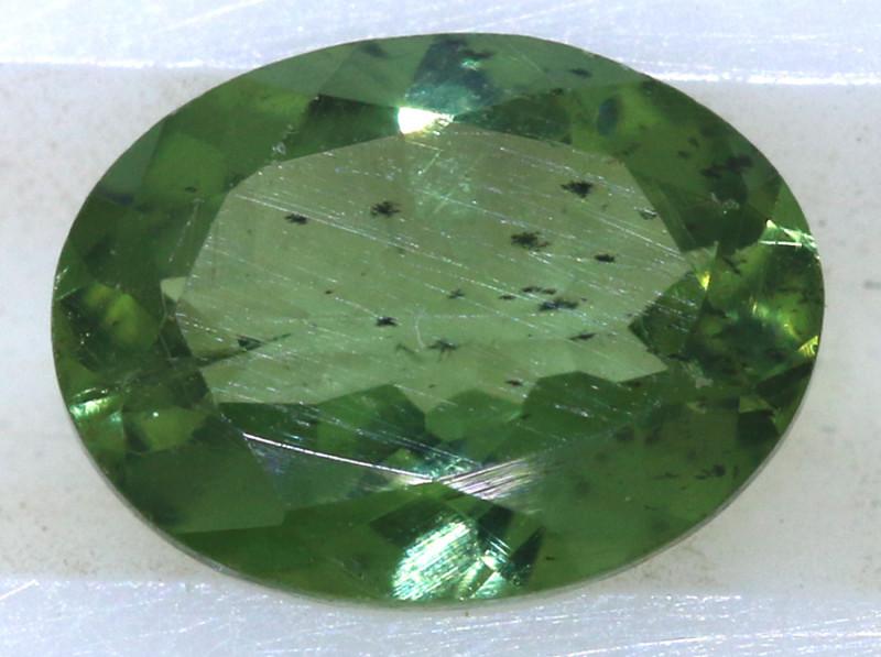 0.80 carats Green Sapphire