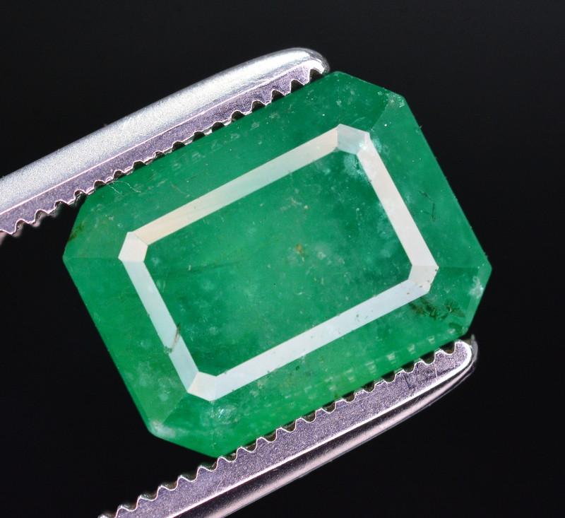 3.45  Ct Natural Zambia Emerald Gemstone