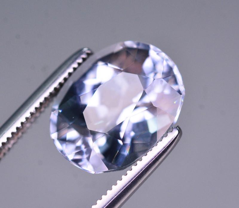 3.45 Ct Superb Color Natural Blue Aquamarine AQ1