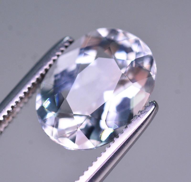 3.20 Ct Superb Color Natural Blue Aquamarine AQ1