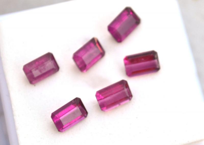3.52 Carat Top Vibrant Color Pink Tourmaline Parcel