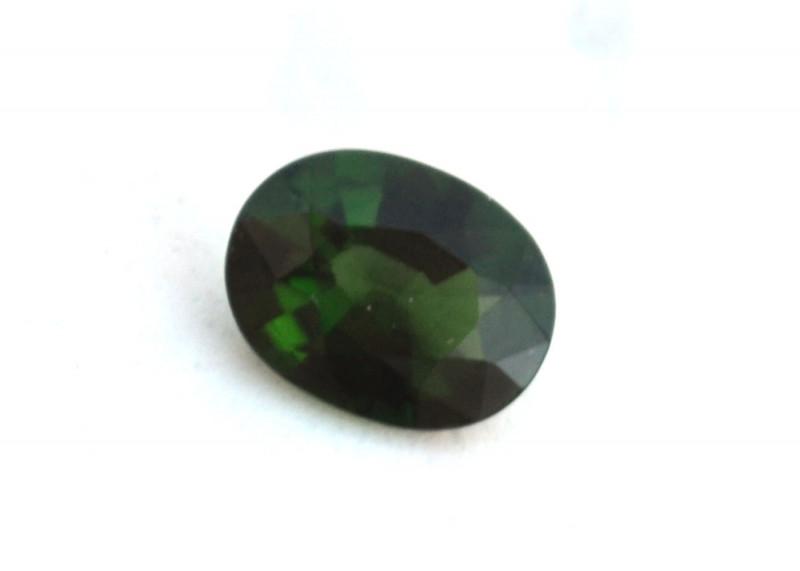 0.93 Carat Fine Oval Cut Chrome Green Tourmaline