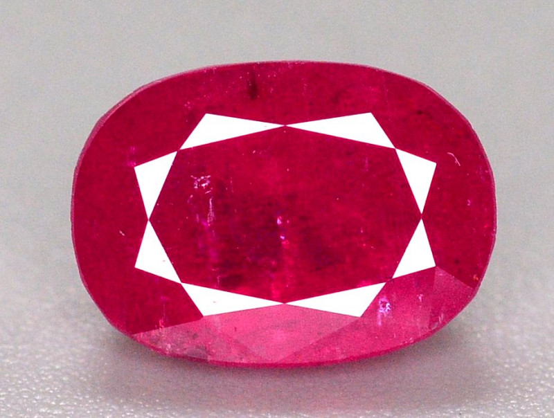 Amazing Color 2.30 Ct Natural Ruby From Tajikistan