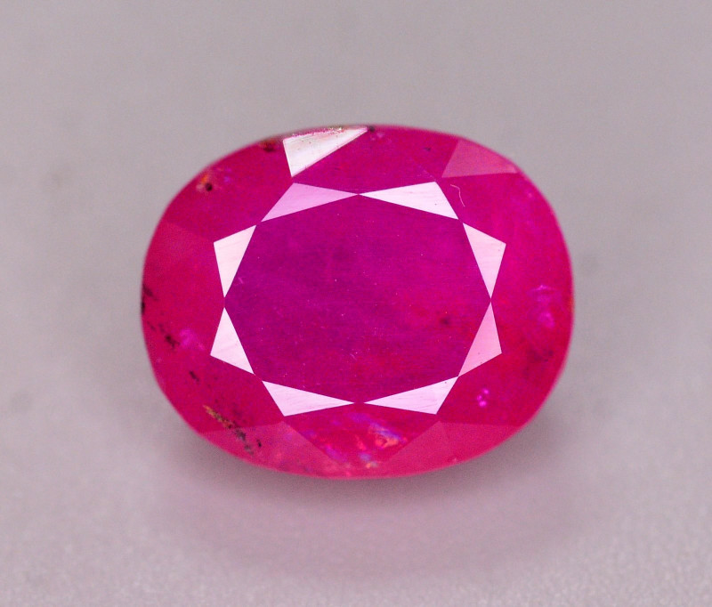 Brilliant Color 3.30 Ct Natural Ruby From Tajikistan