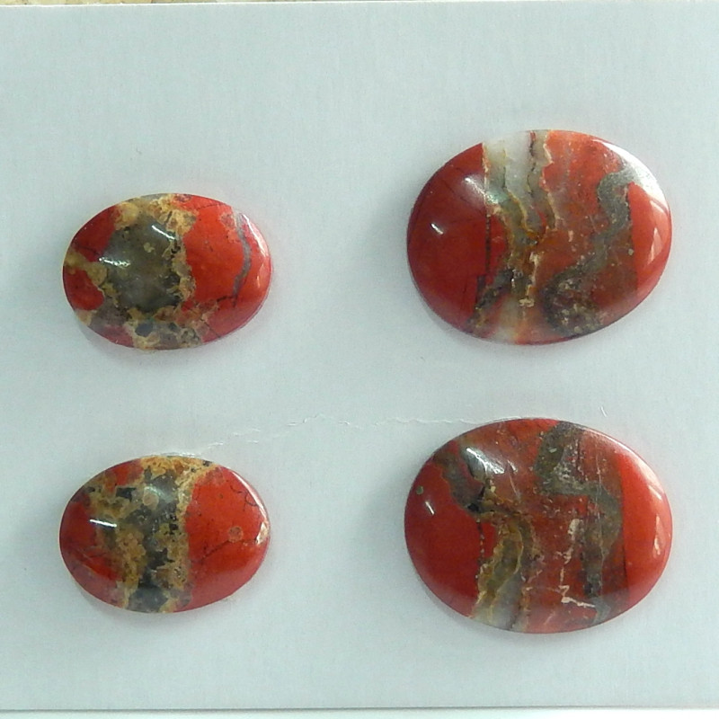 Sale Natural Red River Jasper Cabochon Beads ,Wholesale Jewelry C104