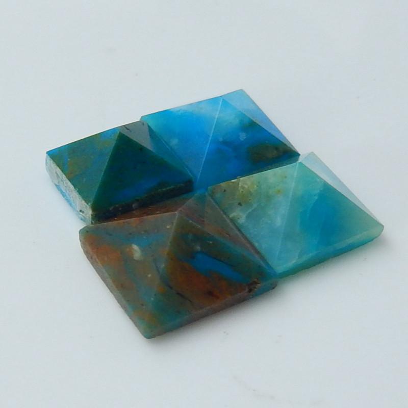 16cts Blue Opal Cabochon, October Birthstone, Blue Opal Bead C129