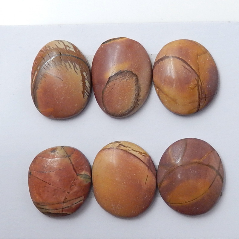 Sale Wholesale Gemstone Multi Color Jasper Cabochon Round Beads C138